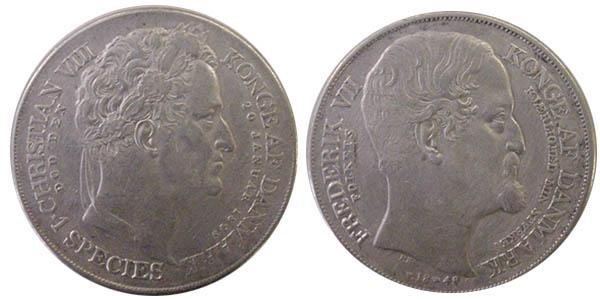 danska mynt värde